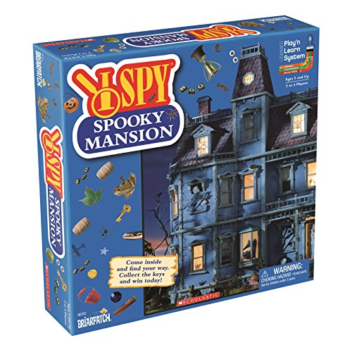 I Spy Spooky Mansion (Ispy Board Game)