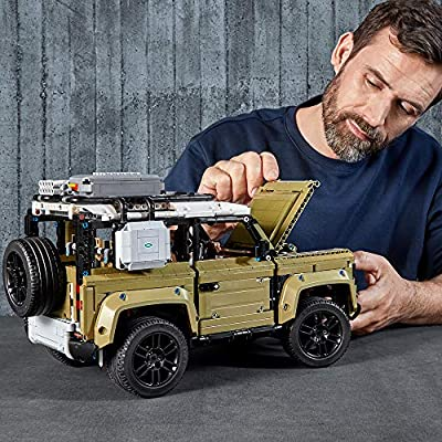 LEGO Technic Land Rover Defender 42110 Building Kit (2573 Pieces): Toys & Games