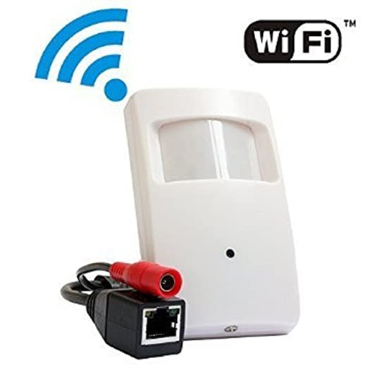 13 opinioni per ELP Mini HD Wireless Telecamere IP 1.0megapixel fotocamera PIR Style Pinhole