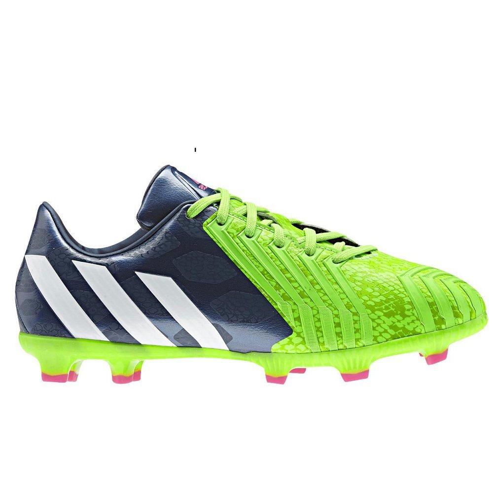 c627581258ef adidas Predator Absolado Instinct LZ Kids FG Football Boots Rich Blue Core  White Solar Green - size 5.5  Amazon.co.uk  Shoes   Bags