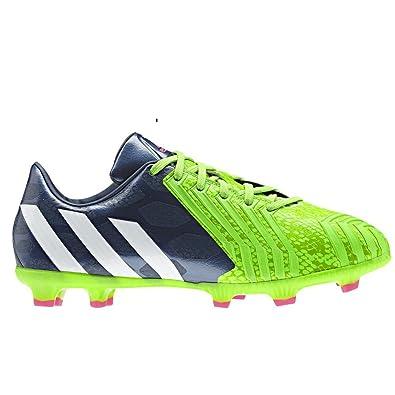 3439de9d2e30 adidas Predator Absolado Instinct LZ Kids FG Football Boots Rich Blue Core  White Solar