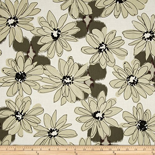 Fabric Paintbox (Paintbox Shadows Big Daisy Taupe Fabric)