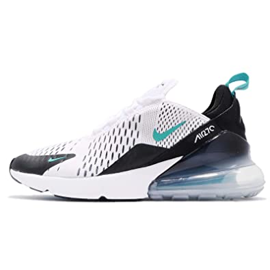 Amazon.com: NIKE Kids Air Max 270 GS, White/Dusty Cactus-Black, Youth Size 4: Shoes