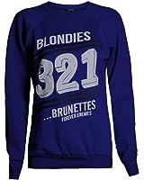 Fast Fashion - Sweatshirt Haut Brooklyn 76 Los Angeles Et Work Out Imprimer Toison - Femmes