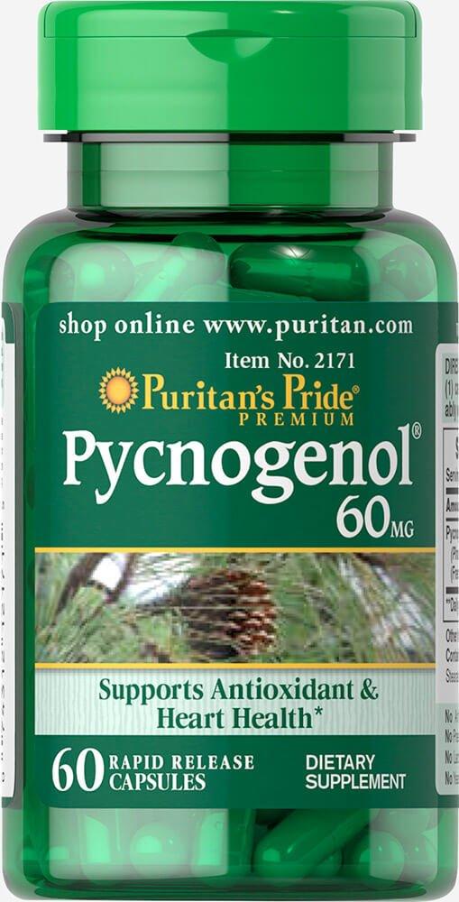 Puritan's Pride Pycnogenol 60 mg-60 Capsules