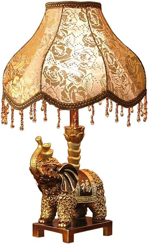 HWZQHJY Lámpara de noche europea Dormitorio decoración de la ...