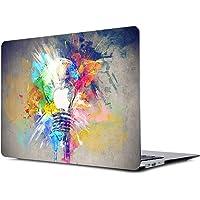 """Onkuey - Carcasa rígida para MacBook Air de 13 Pulgadas (Modelo A1369 y A1466), diseño de Cerebro Izquierdo y Derecho, Colorful Bulb Brain, A1502/A1425 Old Mac Pro 13"""" Retina (-2015)"""