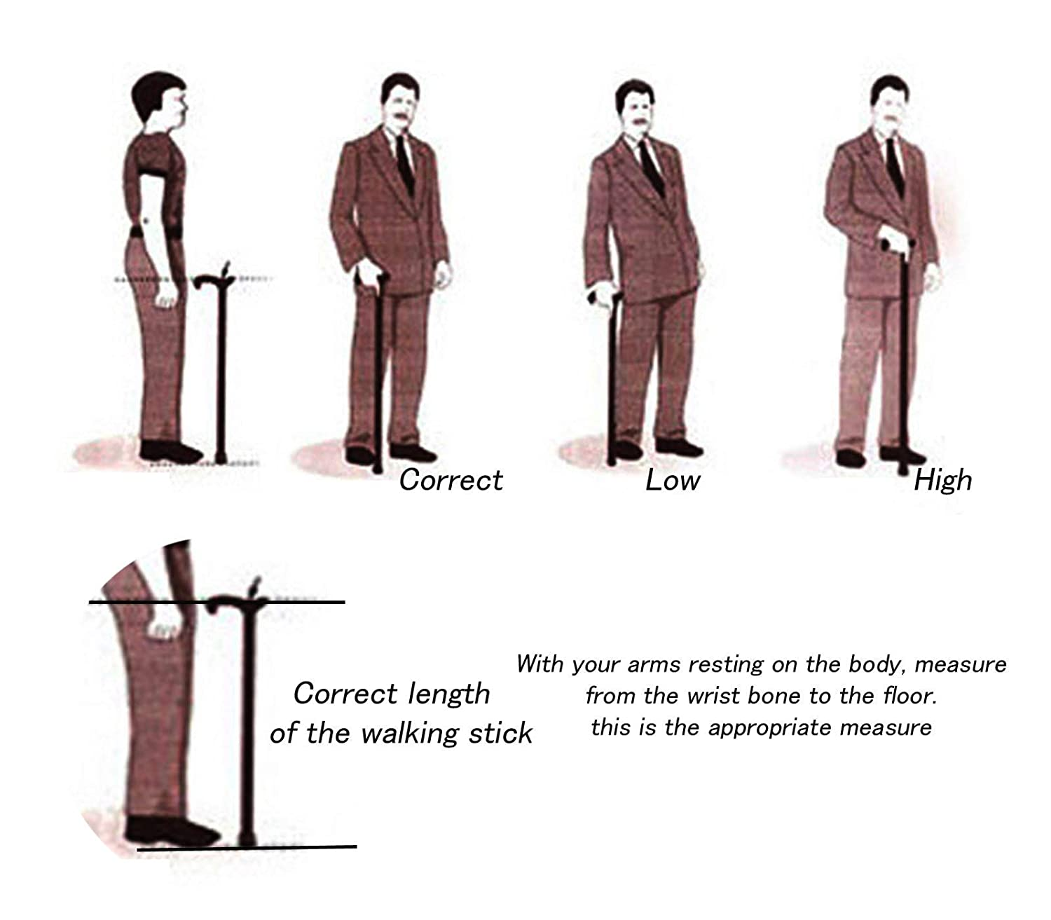 made in Italy classy model Cavagnini tailor-made for you Walking canes and stick liberty style swan 38 for the elderly