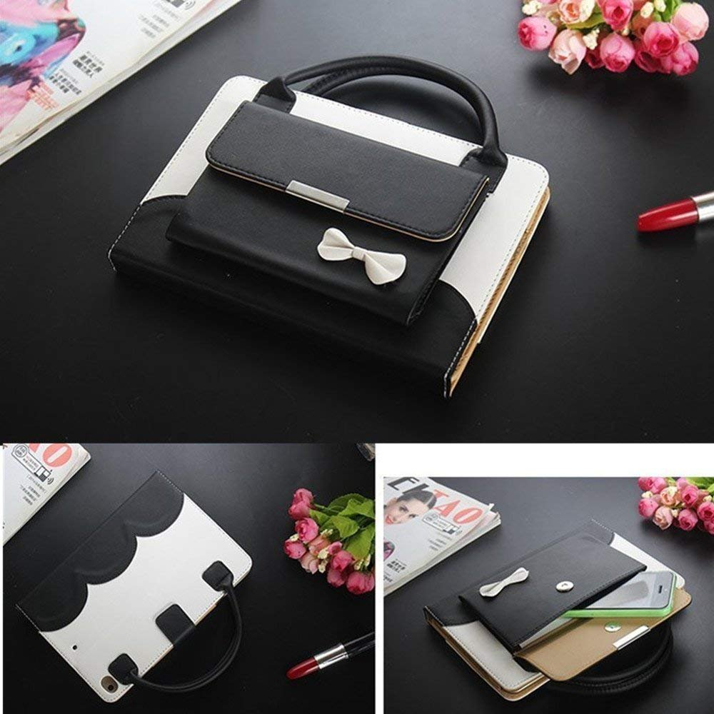 iPad Pro 10.5 Case,Businda Portable Handbag Style Cute Bowknot Design Viewing Stand Carrying Sleeve with Auto Sleep/Wake Function for iPad Pro 10.5