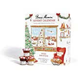 Bonne Maman 2021 Limited Edition Advent Calendar, with 24 mini fruit spreads and honey
