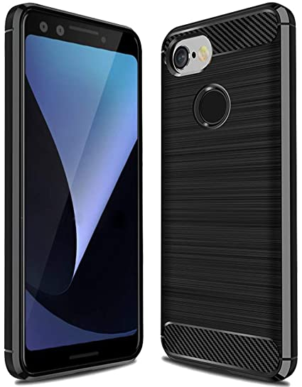 huge discount 57b17 146aa Google Pixel 3 Case,Pixel 3 Case, Sucnakp TPU Shock Absorption Technology  Raised Bezels Protective Case Cover for Google Pixel 3 Case (TPU Black)