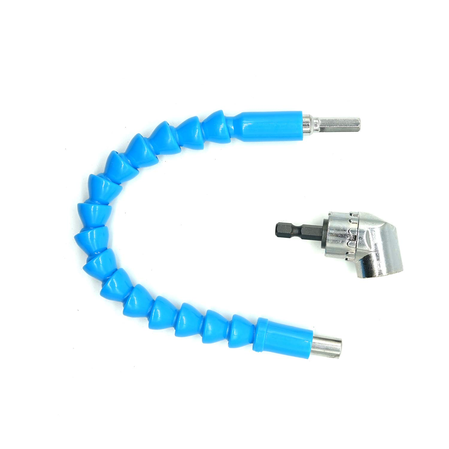 Flexible Drill Bit Extention Screwdriver Blue