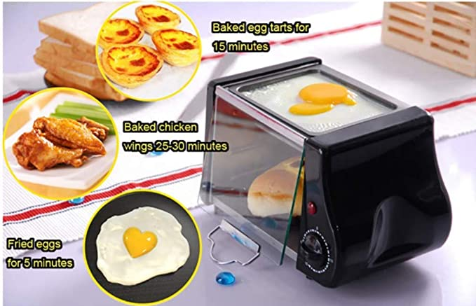 LITIANTIAN-Bread Machine Mini Horno Desayuno Tortilla ...
