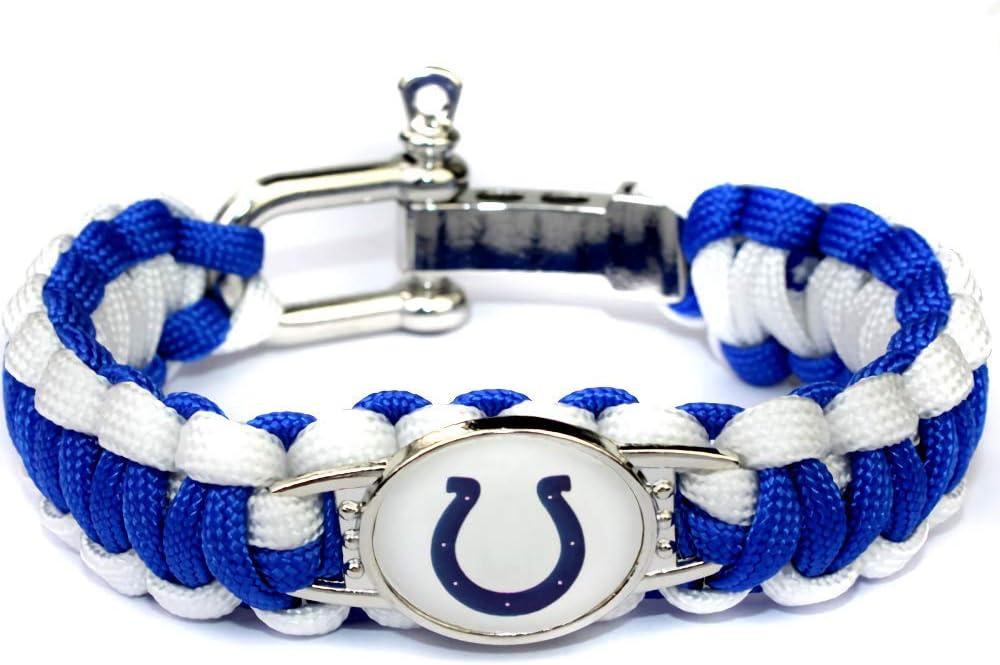American Football Team Sports Bracelets Alloy Buckle