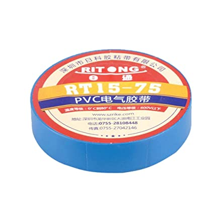 Prettyia 1.7cm*20m Professional Electrician Tools PVC Insulation Electrical Tapes - Blue, 1.7cm*20m