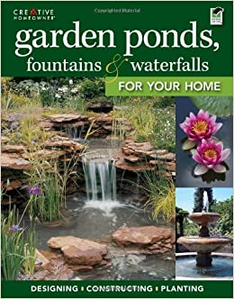 Garden ponds fountains waterfalls for your home for Garden pool book