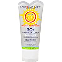 California Baby SPF 30 Sunscreen for Super Sensitive Skin, Broad Spectrum Sun Block for Kids, Babies and Adults, Water…