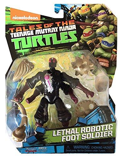 Teenage Mutant Ninja Turtles Lethal Robotic Foot Soldier Basic Action Figure