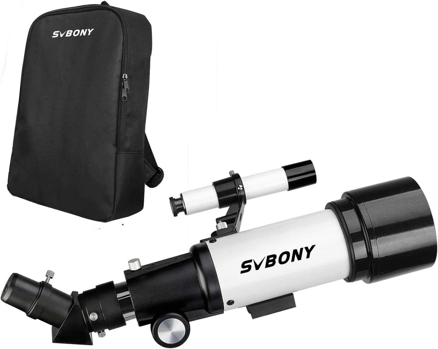 Svbony SV501P Telescopio Astronomico Profesional,70/400mm Telescopio para Niños Adultos Principiantes,con Mochilapara Observación Lunar Celestial y Terrestre