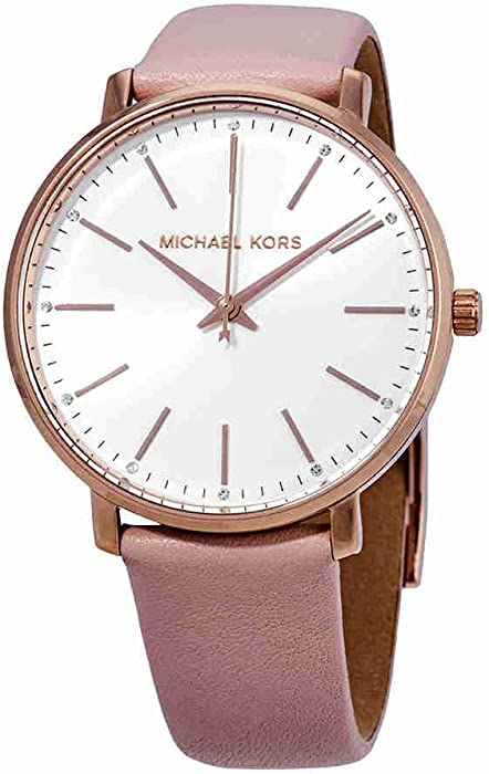 6facd64def00 Michael Kors Women s Analogue Quartz Watch with Leather Strap MK2741   Amazon.co.uk  Watches