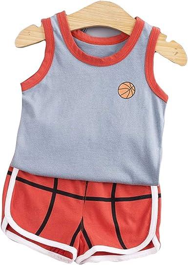 Niños Bebes Camiseta + Pantalones Cortos Conjunto Camisa sin ...