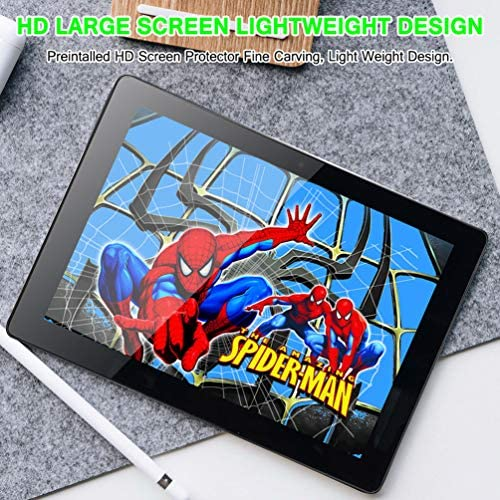 10 inch Android Tablet PC, Octa-Core Processor, 5G-WiFi Google Tablet, 4GB RAM, 64GB ROM, HD Touchscreen Built-in Bluetooth WiFi GPS M5 (Silver) 61ukhOK64aL