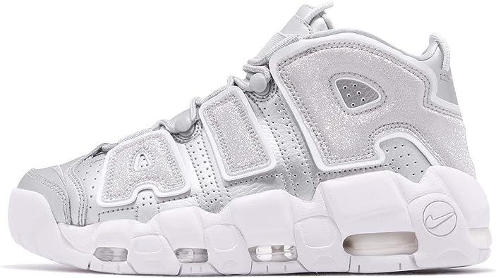 Carretilla Montgomery Ruina  Amazon.com | Nike Women's WMNS Air More Uptempo, Metallic Silver, 8.5 US |  Shoes