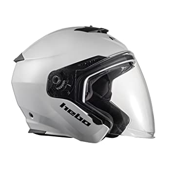 HEBO Casco Brooklyn, Blanco, Talla XL