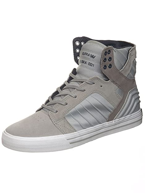 388cbfa0e35 Supra Skytop Evo Mens Black Suede High Top Lace Up Sneakers Shoes ...