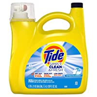 Deals on Tide Simply Clean & Fresh Liquid Laundry Detergent 128 Fl Oz