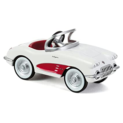 Amazon.com: Hallmark QEP2157 1958 Corvette Christmas Ornament: Home ...
