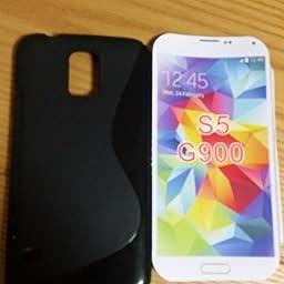 Amazon ノーブランド品 Galaxy S5 Active Tpu グリップカバーケース Docomo Sc 02g Samsung ギャラクシーs5 アクティブ スマートフォン 対応 薄型軽量 滑止め加工 ソフトフィットモデル Design S Black 黒 ケース カバー 通販