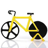 Roulettes à pizza Vélo en acier inoxydable double