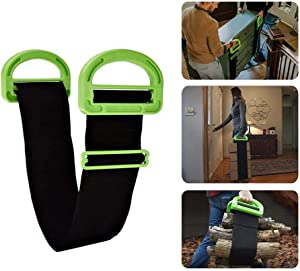 Adjustable Moving and Lifting Straps for Furniture, Boxes, Mattress, Construction Materials, or Other Heavy, Bulky, or Awkward Objects, Single or Two Person Carrying,1PCS.
