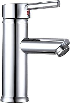 Oferta amazon: Hapilife Grifo Lavabo Grifos de lavabo Grifo Monomando Lavabo Grifos Lavabo Grifo Baño Labavo Grifo para Lavab Griferia Lavabo Griferia Baño con Aireador Incorporado, 10 Años Garantía           [Clase de eficiencia energética A+++]