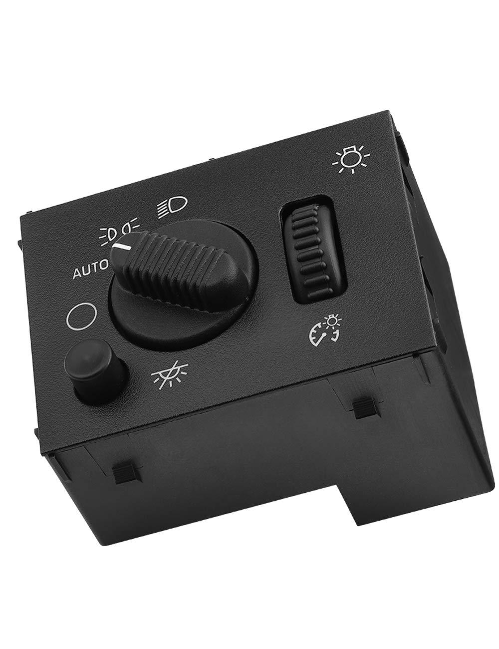 Headlight Switch Compatible with Silverado JoyTutus Sierra 2003 2004 2005 2006 2007 19381535 D1595G 15194803 Headlamp Dimmer Switch