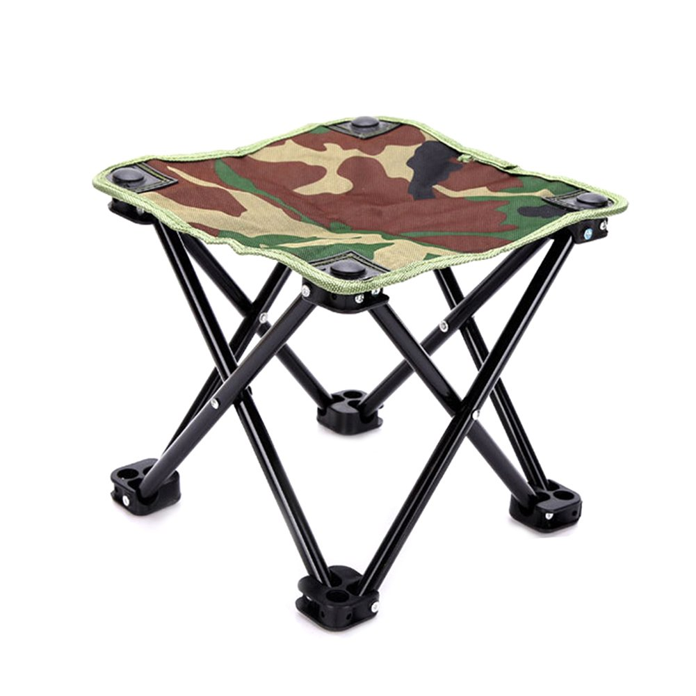 chaise pliante camping peche picnic camouflage tabouret ultra legere portable