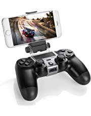 Link-e : Universal smartphone handy / telefon unterstützung mit micro USB kabel für Sony PS4 Dualshock wireless controller (clip, klammer, Iphone, Samsung, HTC, Android, Huawei, LG...)