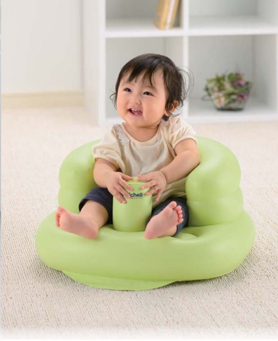 Richell Airy Baby Chair (Green)