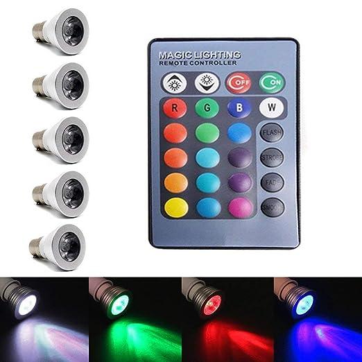 Proyector de luz de noche Star Bombillas LED Mini Disco DJ Luces ...