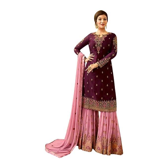 Amazon.com: Traje de nupcial para novia, de vino, color rosa ...