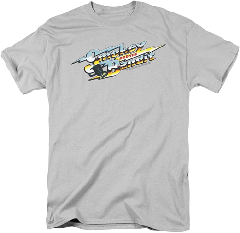 Smokey & The Bandit Movie Logo Licensed Adult T-Shirt