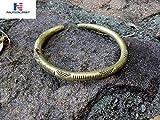 NAUTICALMART Brass Viking Arm Band - Handmade