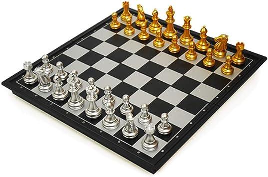 Ajedrez de plástico Plegable, Juego de ajedrez, ajedrez Caja portátil magnética, Juego-específicas, Regalos y Juegos de Mesa for Adultos y niños (Color : B , Size : M) : Amazon.es: Juguetes y juegos