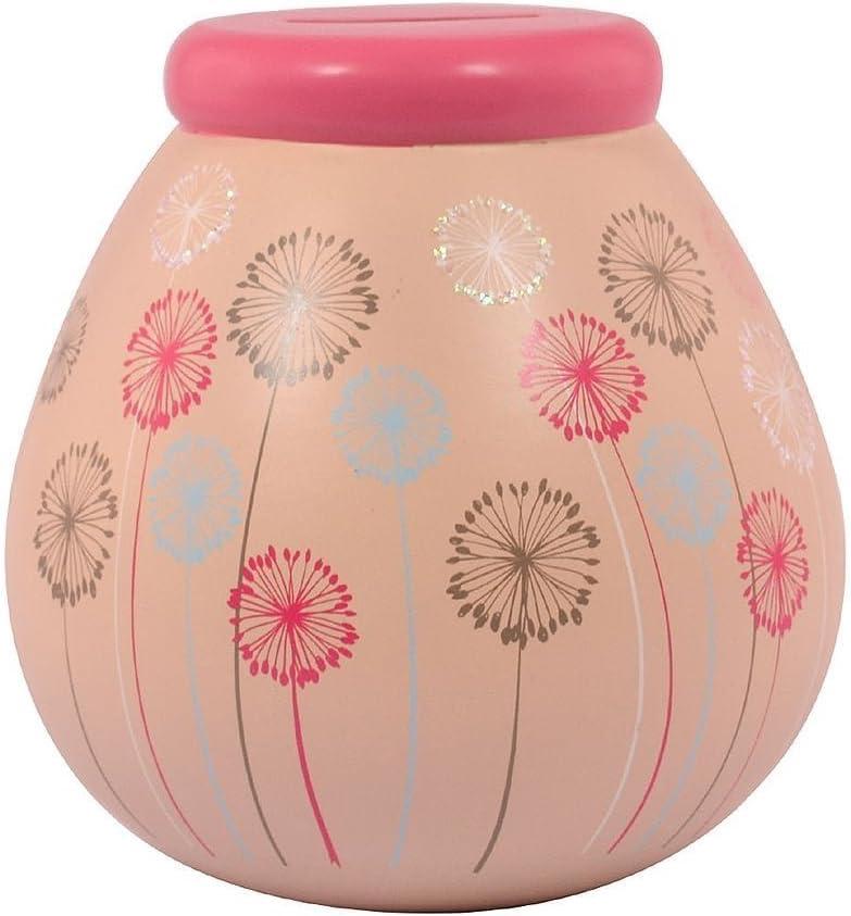 Dandelion Pots of Dreams Money Pot Save Up /& Smash Money Box Gift