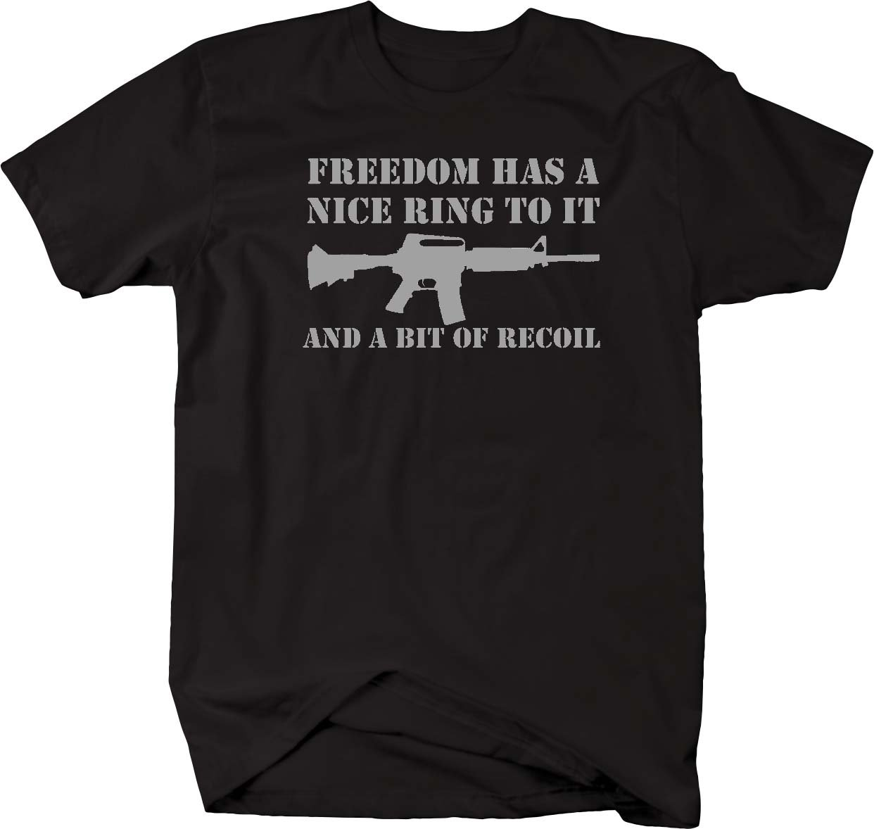 One Stop Gear Freedom Has A Nice Ring To It A Bit Of Recoil Tactical Ar15 Rifle Nra T Sh S