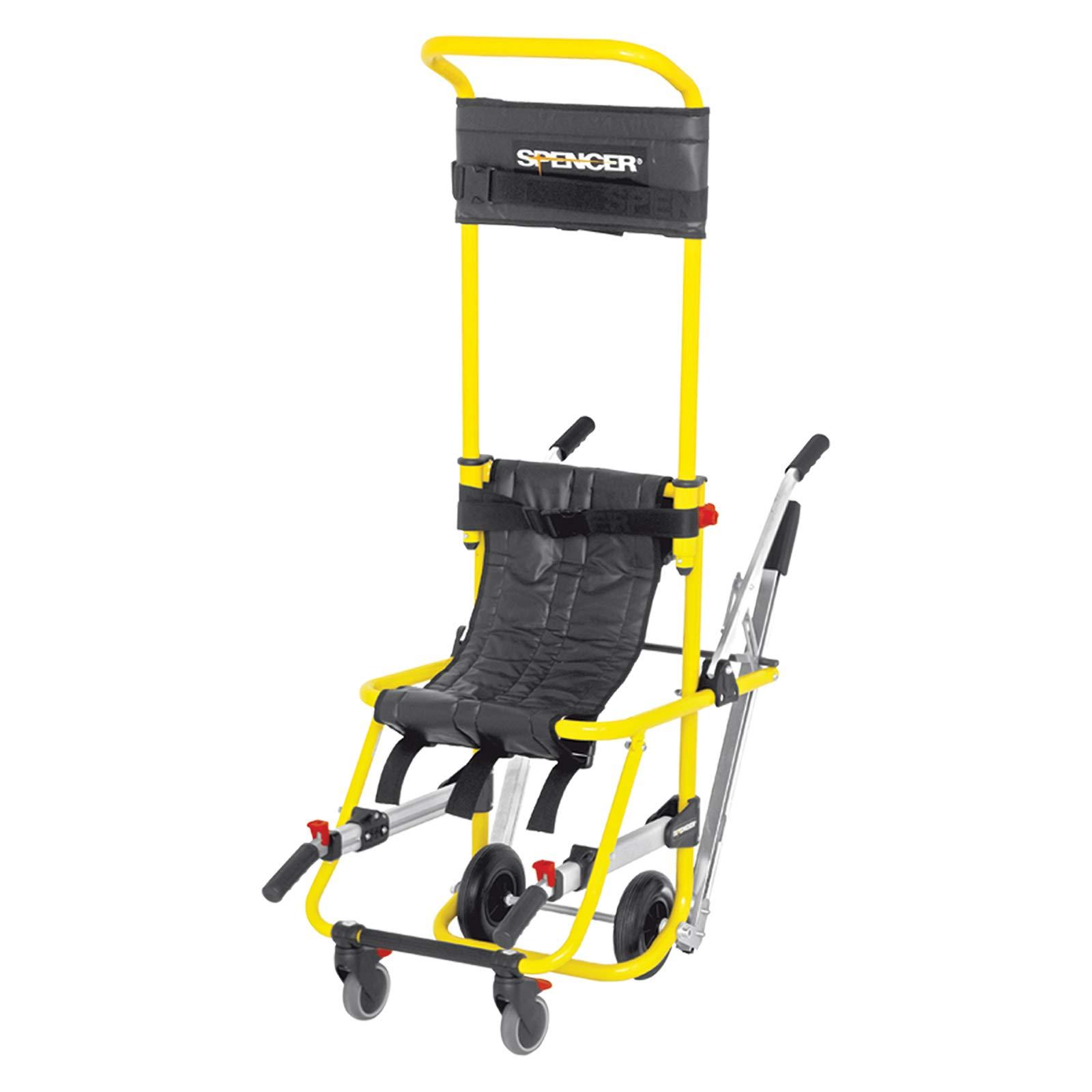 Spencer Italia SK10001 E Yellow Pro Skid Evacuation Chair