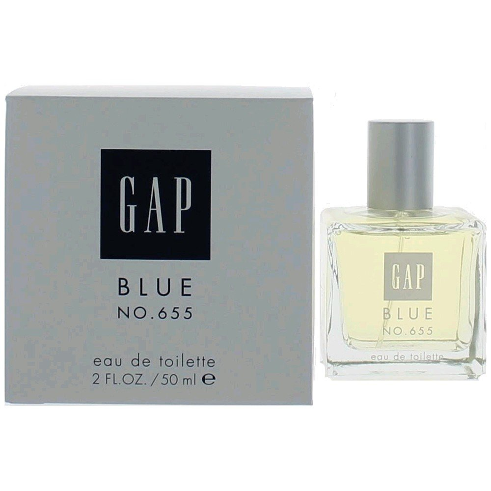 655 Eau de Toilette for Her 1.7 fl OZ (50 mL e) : Gap Blue Perfume : Beauty