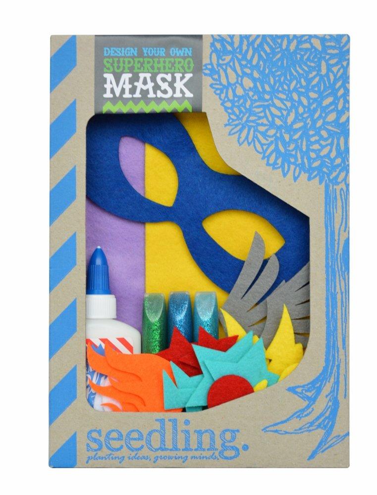 ce7ee6366ba9 Seedling Design Your Own Superhero Mask Dress Up Activity Kit(13FTSHM)