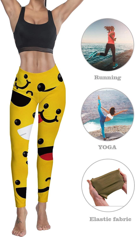 Eelivero High Waist Yoga Pants Tummy Control Workout Leggings,Peacock